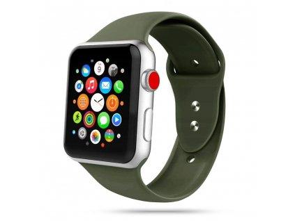 Tech-Protect Iconband řemínek pro Apple Watch 2/3/4/5/6/SE (38/40mm), Army Green
