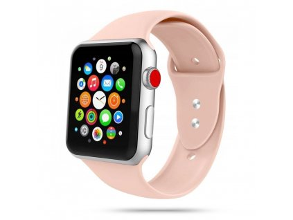 Tech-Protect Iconband řemínek pro Apple Watch 2/3/4/5/6/SE (42/44mm), Pink Sand