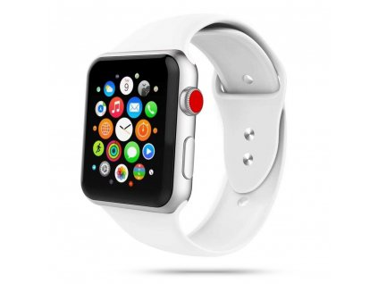 Tech-Protect Iconband řemínek pro Apple Watch 2/3/4/5/6/SE (42/44mm), White