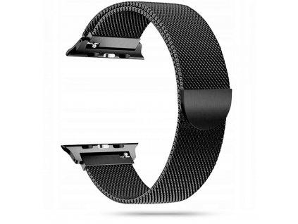 Tech-Protect Milaneseband řemínek pro Apple Watch 2/3/4/5/6/SE (38/40mm), Black