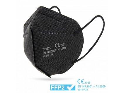 ffp2 cerny respirator