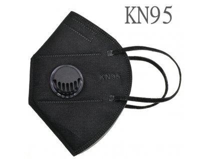 kn95 ventil cerny
