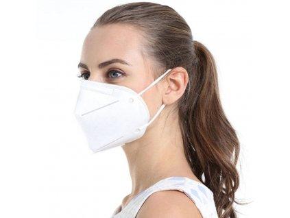 kn95 respirator na obliceji