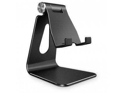 Tech-Protect stojánek / držák na stůl Z4A pro telefony a tablety (iPad apod.), černý