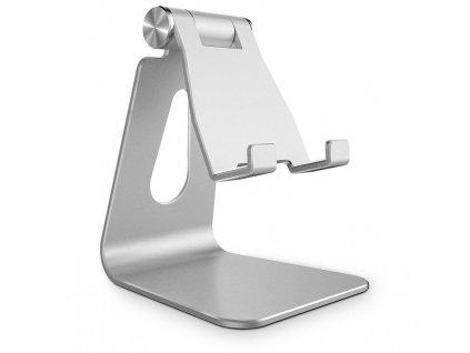 Tech-Protect stojánek / držák na stůl Z4A pro telefony a tablety (iPad apod.), stříbrný