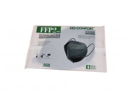 ho comfort FFP2 single black