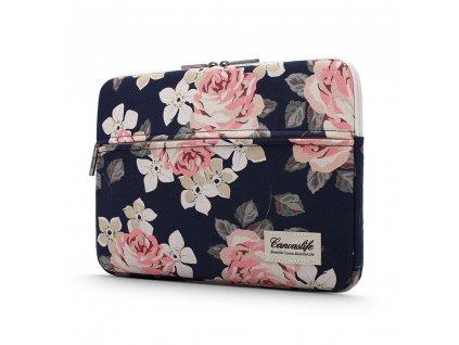 "Pouzdro na MacBook / notebook - CANVASLIFE, 13""-14"" Briefcase Navy Rose"