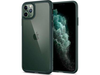 Spigen Ultra Hybrid, midn. green - iPhone 11 Pro