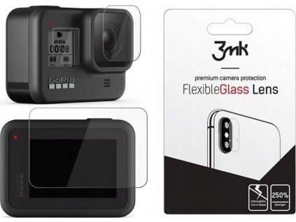 Hybridní sklo 3MK FLEXIBLE GLASS GOPRO HERO 8