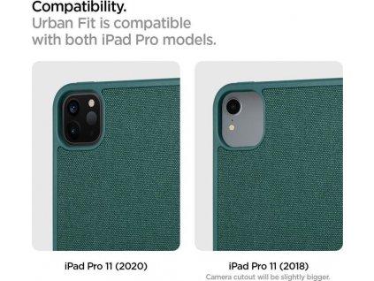 """Spigen Urban Fit, green - iPad Pro 11"""" 2020/2018"""