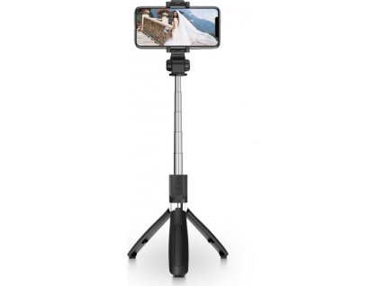 TECH-PROTECT L01S WIRELESS SELFIE STICK TRIPOD BLACK