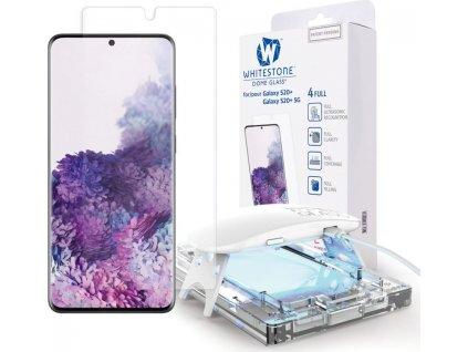Tvrzené sklo WHITESTONE DOME GLASS GALAXY S20+ PLUS CLEAR