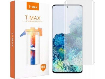 Tvrzené sklo T-MAX UV GLASS REPLACEMENT GALAXY S20+ PLUS CLEAR