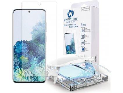 Tvrzené sklo WHITESTONE DOME GLASS GALAXY S20 CLEAR