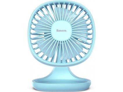 Stolní větrák BASEUS PUDDING SHAPED FAN BLUE
