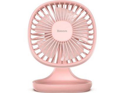 Stolní ventilátor BASEUS PUDDING SHAPED FAN PINK