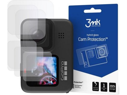 Hybridní sklo 3MK FG CAM PROTECTION GOPRO HERO 9 / 10