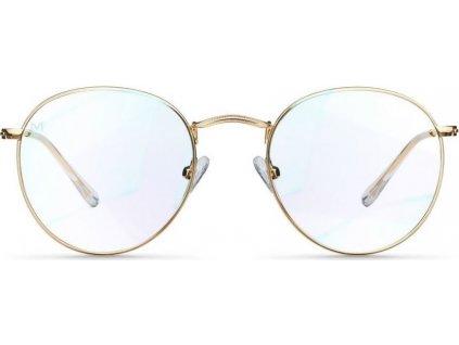 Brýle s filtrem modrého světla BLUE LIGHT NA POČÍTAČ MELLER YSTER GOLD