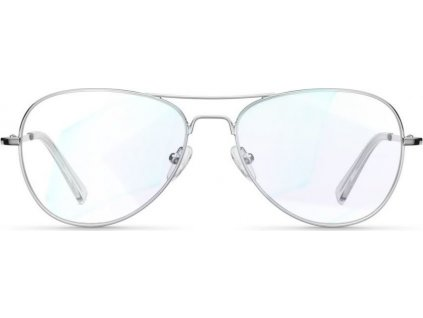 Brýle s filtrem modrého světla BLUE LIGHT NA POČÍTAČ MELLER ASHIA SILVER