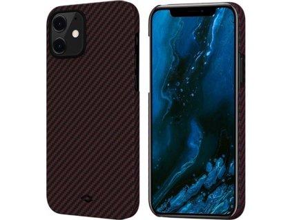 Pitaka MagEZ, black/red - iPhone 12 mini