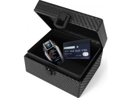 RFID box / Faradayova klec TECH-PROTECT V3 KEYLESS RFID SIGNAL BLOCKER BOX CARBON