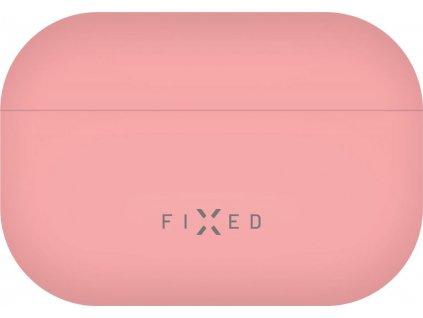 Ultratenké silikonové pouzdro FIXED Silky pro Apple Airpods Pro, růžové