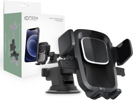 TECH-PROTECT V2 DASH & WINDSHIELD CAR MOUNT BLACK