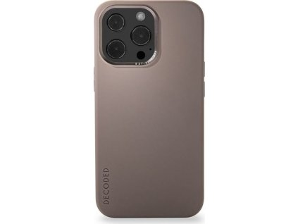 Decoded Sil Backcover, dark taupe - iPhone 13 Pro