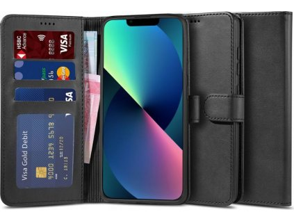 """TECH-PROTECT WALLET """"2"""" IPHONE 13 BLACK"""