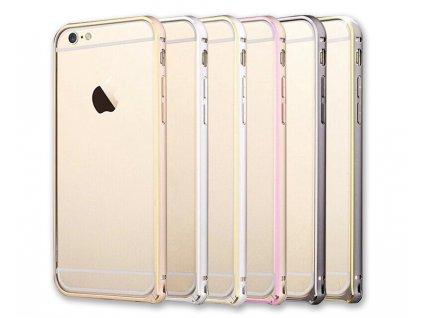 Luxusní kryt pro iPhone 6/6S - Steel Shield (Barva Stříbrný - iPhone 6)