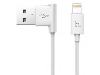 premiovy datovy kabel hoco pro apple iphone a ipad s lightning konektorem white