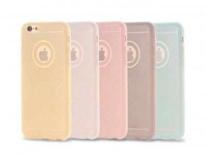 Stylový kryt pro iPhone 6 Plus /6S Plus- Glitter (Barva Zlatý)