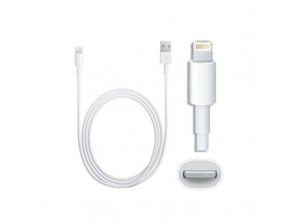Originální USB datový kabel Apple iPhone 2 metry MD818ZM 8 pin Lightning pro Apple iPhone 5/5S/5C/SE a 6/6S/6 PLUS/6S PLUS, 7/7 PLUS a iPad