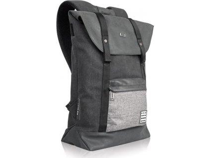 6390 6 solo momentum backpack black gray 15 6