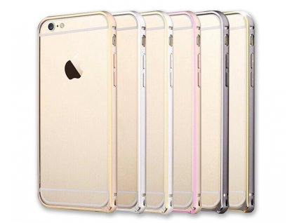Luxusní kryt pro iPhone 6 PLUS - Steel Shield (Barva Zlatý)