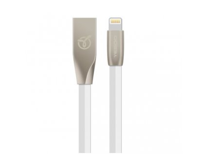 7212 4 datovy kabel yesido pro iphone s lightning konektorem bily