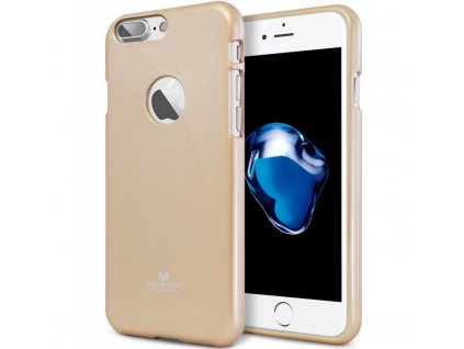 Kryt Jelly Case Mercury pro Apple iPhone X, gold