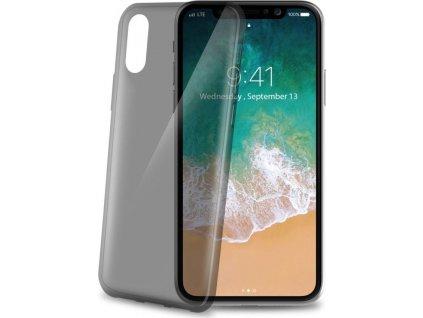 TPU pouzdro CELLY Ultrathin pro Apple iPhone X/XS, černé