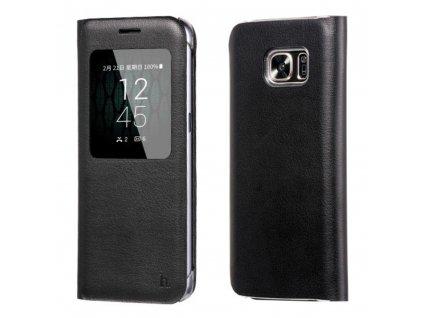 Pouzdro HOCO Visible Leather - Black pro Samsung Galaxy S7