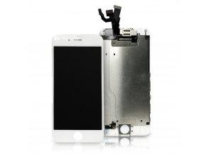LCD Displej pro iPhone 6S + Dotyková Deska + kompletně osazená přední část bez Home Button bílý AAA+ TOP kvalita