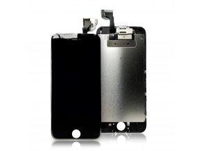 LCD Displej pro iPhone 6S + Dotyková Deska + kompletně osazená přední část bez Home Button černý AAA+ TOP kvalita