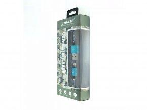 USB kabel TD-LTE Lightning pro Apple iPhone 5/5S/5C/SE a 6/6S/6 PLUS/6S PLUS/7/7 Plus/8/8 Plus/X a iPad, Blue Camouflage