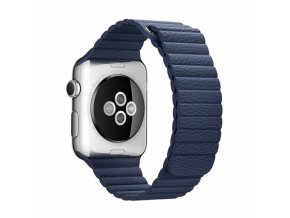 clearo reminek s magnetickym upinanim pro apple watch 42mm modry