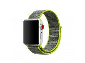 Clearo Sport nylonový řemínek : pásek pro Apple Watch 42mm – Flash