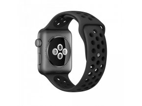 Silicone Sports Band apple anthracite black