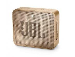 JBL GO 2 Voděodolný bluetooth reproduktor, Champagne