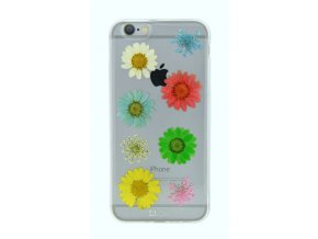 Kryt/Pouzdro 4-OK FLOWER COVER COLORFUL DAISY pro Apple iPhone 6/6S