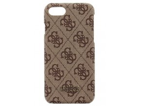Kryt Guess 4G Hard Case Brown pro iPhone 7/8