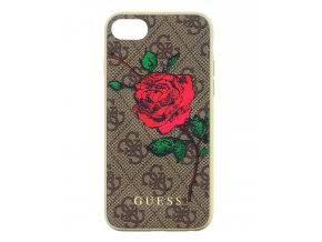 Kryt Guess 4G Flower Desire Zadní Kryt pro iPhone 7/8, Brown