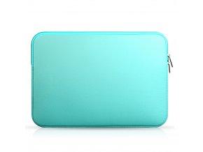 """Clearo Sleeve neoprenový obal pro MacBook a ultrabooky do 15,4"""" – tyrkysová"""